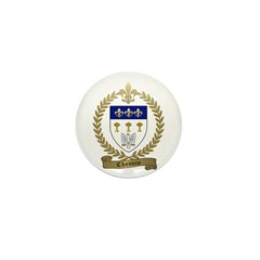 CHAUVIN Family Crest Mini Button
