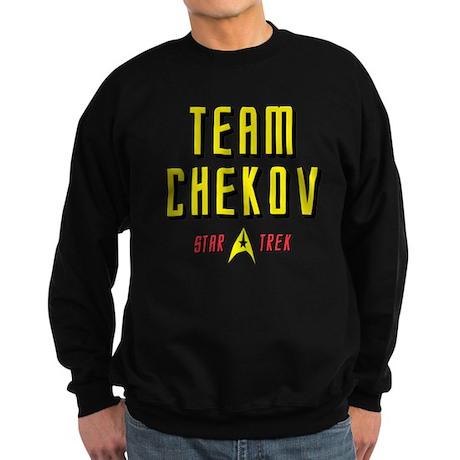 Team Chekov Star Trek Sweatshirt (dark)