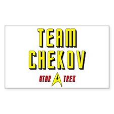 Team Chekov Star Trek Decal