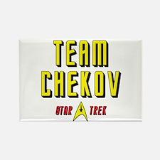 Team Chekov Star Trek Rectangle Magnet