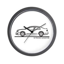 Ford Fusion Wall Clock