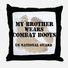 My Brother Wears NG DCB Throw Pillow