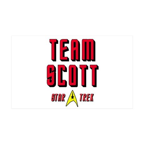 Team Scott Star Trek 38.5 x 24.5 Wall Peel