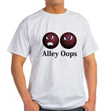 Alley Oops Logo 11 T-Shirt Design Front Cent