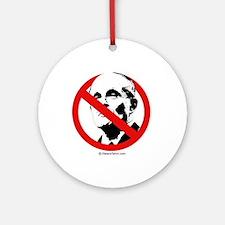 No Rudy Giuliani  Ornament (Round)