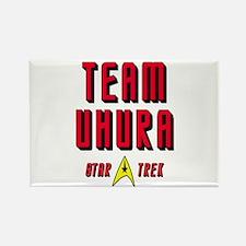 Team Uhura Star Trek Rectangle Magnet