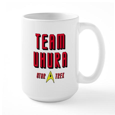 Team Uhura Star Trek Large Mug
