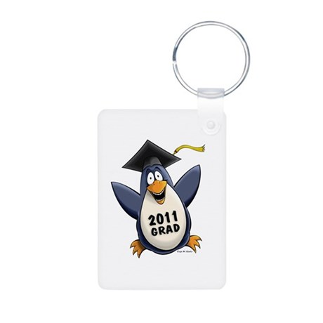 Class of 2011 Penguin Aluminum Photo Keychain