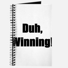 Duh, winning! Journal