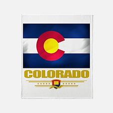 Colorado Pride Throw Blanket