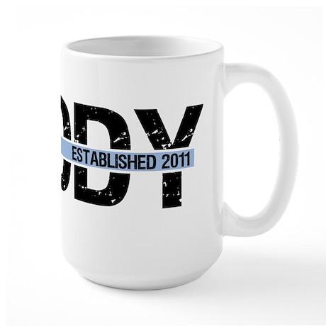 Daddy Established 2011 Large Mug