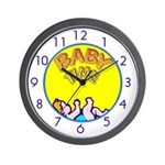 CHILDREN'S SERIES:  Baby Time Wall Clock