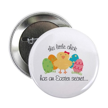 "Easter Chicks Secret Big Sister 2.25"" Button"