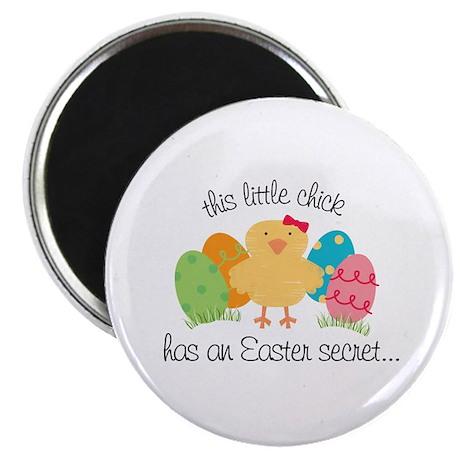Easter Chicks Secret Big Sister Magnet