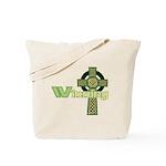 Winning Irish Celtic Cross Tote Bag