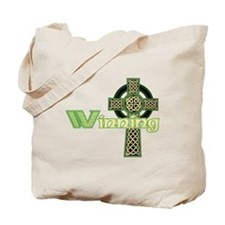 Winning Irish Celtic Cross Tote Bag