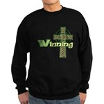 Winning Irish Celtic Cross Sweatshirt (dark)
