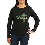 Winning Irish Celtic Cross Women's Long Sleeve Dar