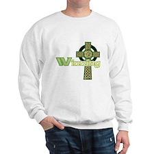 Winning Irish Celtic Cross Sweatshirt