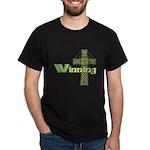 Winning Irish Celtic Cross Dark T-Shirt