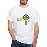 Winning Irish Celtic Cross White T-Shirt
