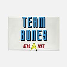 Team Bones Star Trek Rectangle Magnet