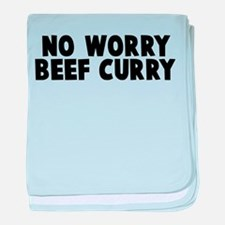 Beef Curry baby blanket