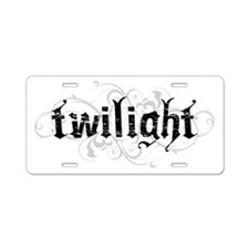 Twilight 4 Aluminum License Plate