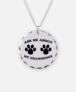 Ask About Granddogs Necklace