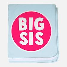 Big Sis baby blanket