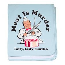 Meat Is Murder baby blanket