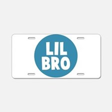 Lil Bro Aluminum License Plate