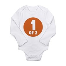 1 Of 2 Long Sleeve Infant Bodysuit