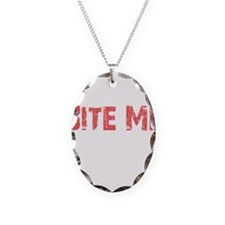 Bite Me Edward Necklace