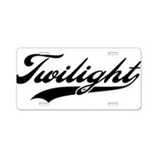 Twilight 2 Aluminum License Plate