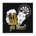 Got Beer? Tile Coaster