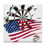 American Heroes: USMC Tile Coaster