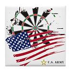 American Heroes: Army Tile Coaster