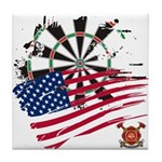 American Heroes: Fire Fighter Tile Coaster