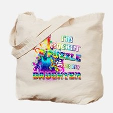 I'm Rockin' A Puzzle for my Daughter Tote Bag