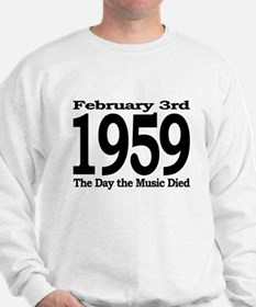 1959 - The Day the Music Died Sweatshirt