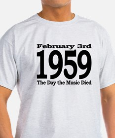 1959 - The Day the Music Died T-Shirt