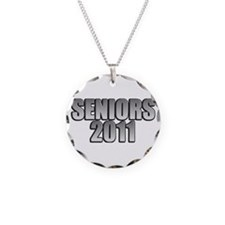 Seniors 2011 Necklace Circle Charm