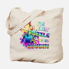 I'm Rockin' A Puzzle for my Cousin Tote Bag