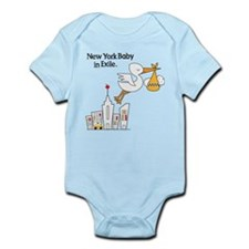 New York Baby In Exile Infant Bodysuit