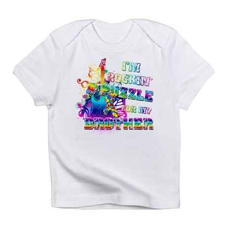 I'm Rockin' A Puzzle for my Brother Infant T-Shirt