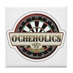 Ocheholics Darts Pub Tile Coaster