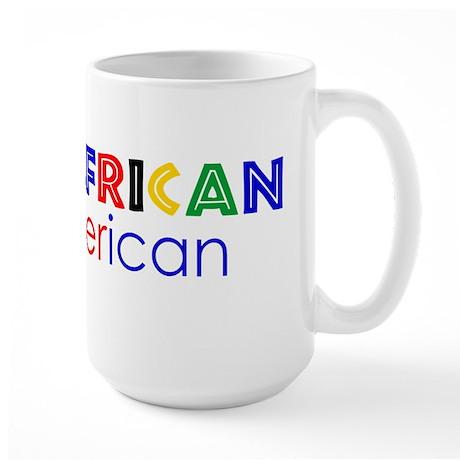 Halfrican Large Mug