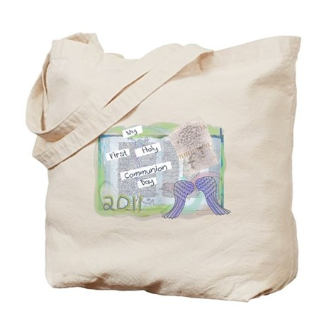 First Communion Tote Bag