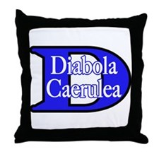 Blue Devils (Fem) Throw Pillow